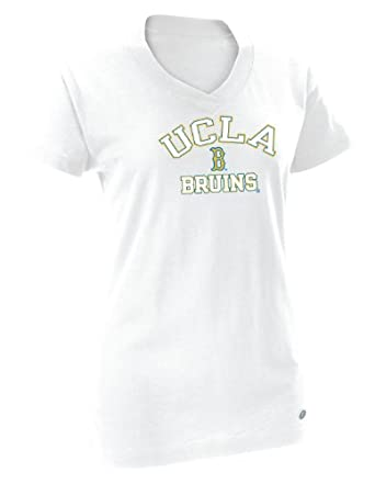 Buy NCAA UCLA Bruins Ladies Dri-Power 360 V-Neck Tee by Russell Athletic