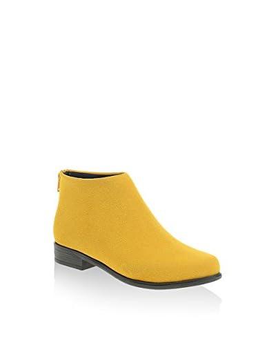 DRG Derigo Zapatos abotinados Burdeos