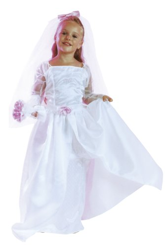 Costume Barbie Mariée  104-116