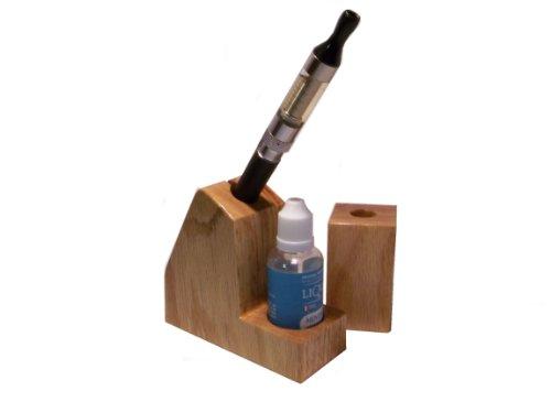 Vapor Stand Set - Oak - Electronic Cigarette Holders