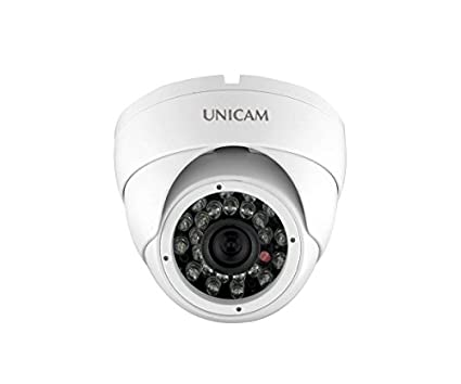 Unicam UC-HDIS92IR 900TVL 3.6mm Lens Dome Camera