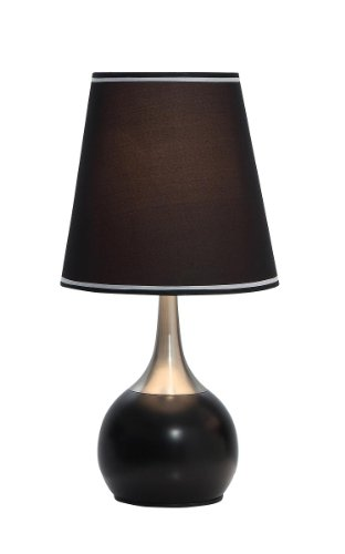 OK LIGHTING OK-815BK-SP1 Table Touch Lamp (Amazon Touch Lamps compare prices)