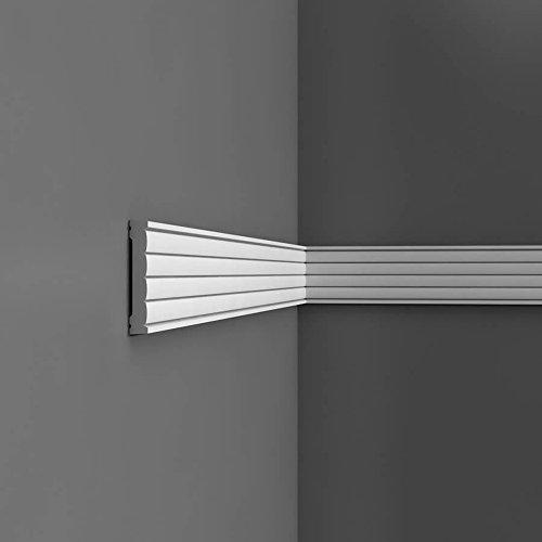 Musterstück 20 cm Orac Decor Muster Friesleiste LUXXUS P5020 Profilleiste Stuckleiste Wandleiste Zierleisten