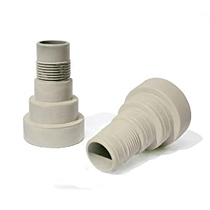 GAME 4550 Filter hose Conversion Kit (For Intex & Bestway Pools) New by Home Comforts