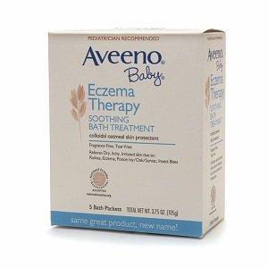 Amazon Com Aveeno Baby Eczema Therapy Soothing Baby Bath