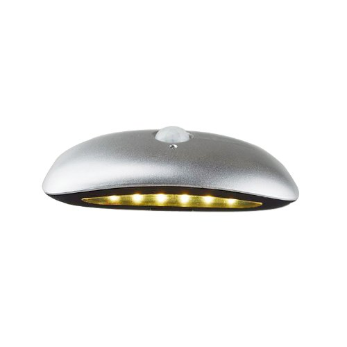 Generic Led Infrared Human Induction Bean Lights /Auto Atmosphere Lamps Size 4.7X4.7X4.7 Color Silver