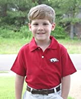 Arkansas Razorbacks Youth Polo Shirt