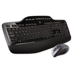* Mk710 Wireless Desktop Set, Keyboard/Mouse, Usb, Black