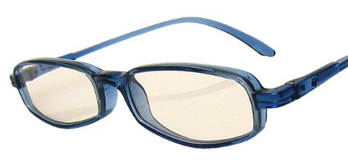 純日本製 ナチュラルサングラス・SABAEシリーズ【オーシャン・ブルー】ケース&メガネ拭き付き 鯖江製 PCメガネ JAPAN