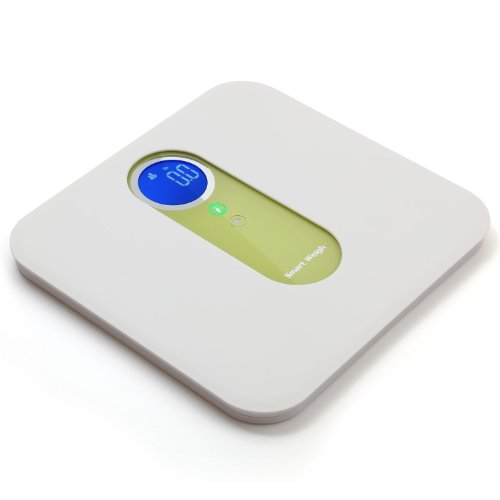 Smart Weigh Digital Dual Body Scale, Baby Scale, Pet Scale, and Luggage Scale with Ultra Wide Platform, Step-on Technology and LCD Display