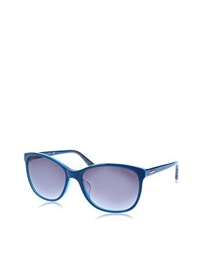 GUESS Gafas de Sol 7426 (58 mm) Azul