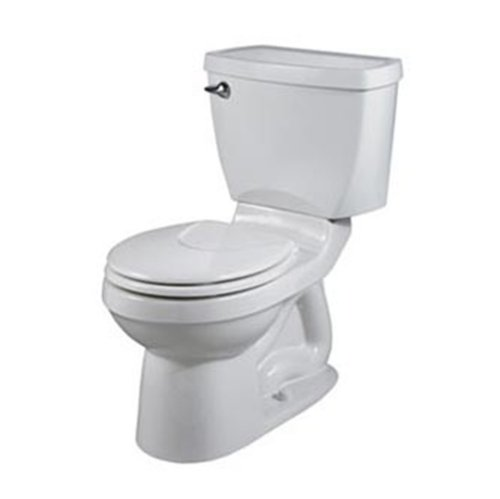American Standard 2585000.020 Champion 4 Round Front Complete Toilet-To-Go, White