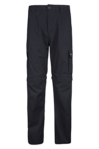 mountain-warehouse-mens-trek-lightweight-convertible-trousers-zip-off-walking-hiking-summer-shorts-b
