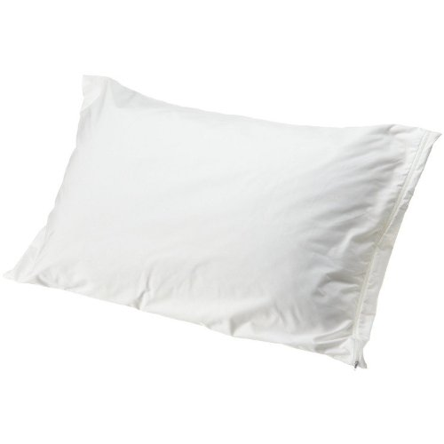 Best Dust Mite Pillow Protectors Set Of 2 Multiple Sizes White Pillow Protectors Dust