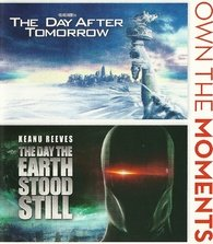 The Day After Tomorrow/ The Day The Earth Stood Still (Blu-Ray) Double Feature