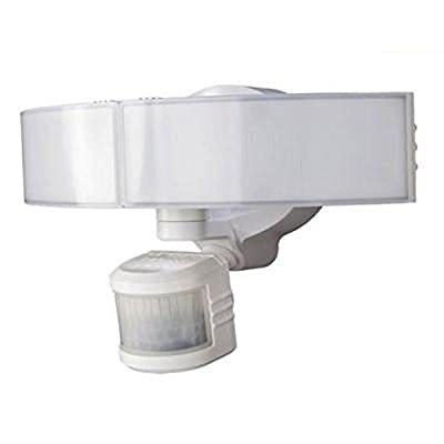 Defiant 270 Degree White LED Bluetooth Motion Outdoor Security Light from Defiant
