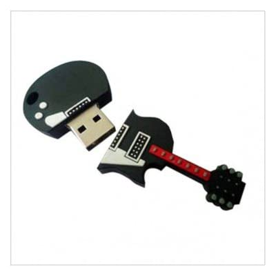 8GB FANCY DESIGNER GUITAR SHAPED USB PENDRIVE