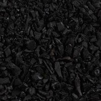 Full Pallet of 80 X 1.0 Cubic Foot Bags - Approx 2080lbs. - Of Black Pinnacle Rubber Mulch
