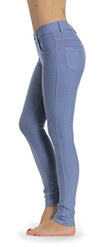 Prolific Health Women's Jean Look Jeggings Tights Slimming Many Colors Spandex Leggings Pants S-XXXL