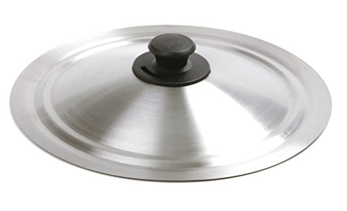 Sunnyfly 609 Stainless Steel Universal Lid For Pots Fry Pans (Universal Microwave Crisper Pan compare prices)