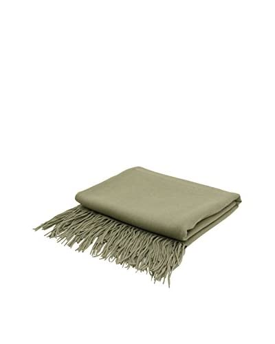 PÜR Cashmere Signature Blend Throw, Green Tea