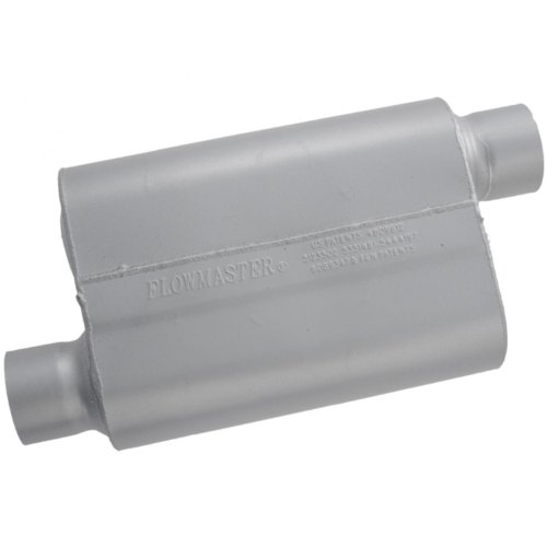 Flowmaster 43043 40 Series Muffler - 3.00 Offset IN / 3.00 Offset OUT - Aggressive Sound (Flowmaster 40 Exhaust System compare prices)