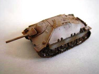 ドイツ軍 ヘッツァー 軽駆逐戦車  冬季迷彩(ホワイト上塗り)