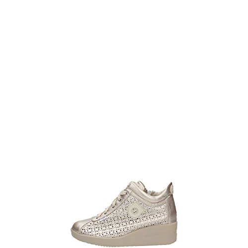 AGILE BY RUCOLINE donna sneakers zeppa 226 A SPAKO 38 ORO