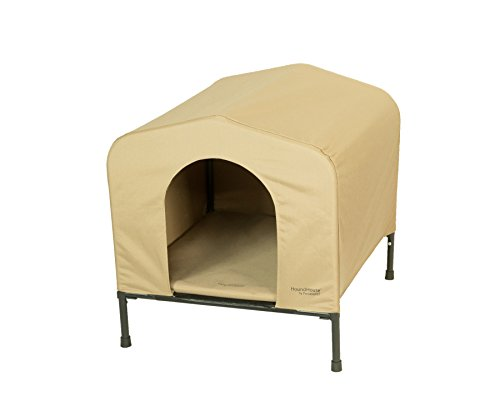 Heininger 3096 PortablePET Large Khaki HoundHouse Kennel and Shelter (Elevated Dog House compare prices)