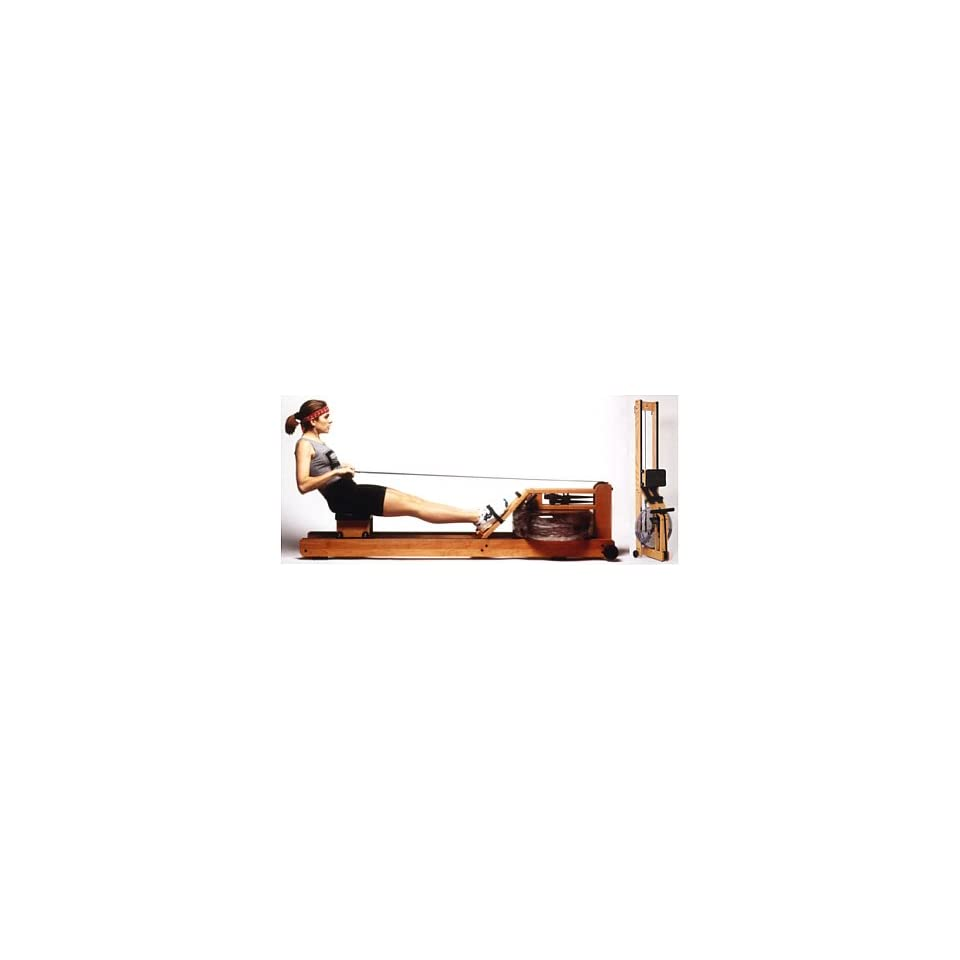 WaterRower Natural Rowing Machine w/ S4 Monitor on PopScreen