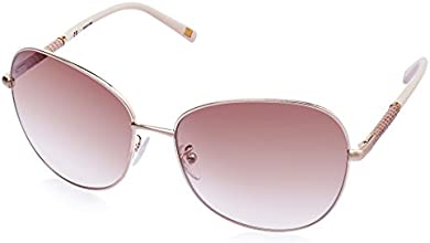 Escada Oversized Sunglasses (Golden) (SES 805|383X|61)