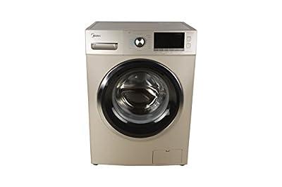 Midea MWMFL080CDR Fully-automatic Front-loading Washing Machine (8 Kg, Golden)