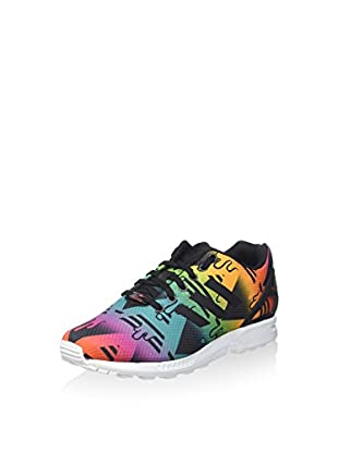 adidas Zapatillas ZX Flux (Negro / Multicolor)