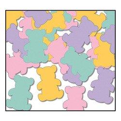 Fanci-Fetti Teddy Bears (L/MG/P/Y) Party Accessory