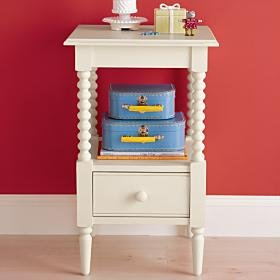 Cheap Kids Nightstands: Kids White Spindle Jenny Lind Nightstand, Wh Jenny Lind Nightstand (B000YG3K4I)