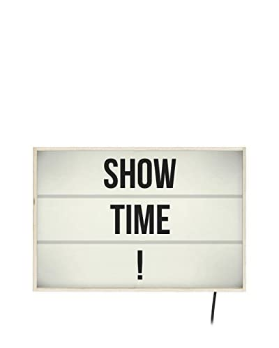 ReallyNiceThings Panel Decorativo Luminoso Show Time