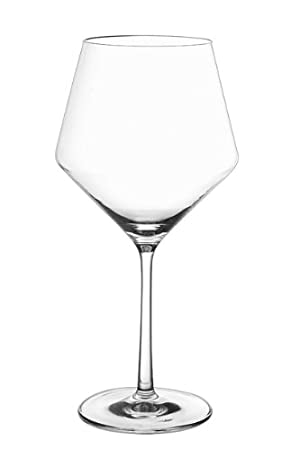 Schott Zwiesel Tritan Crystal Glass Stemware Pure Collection Burgundy, 23.4-Ounce, Set of 6