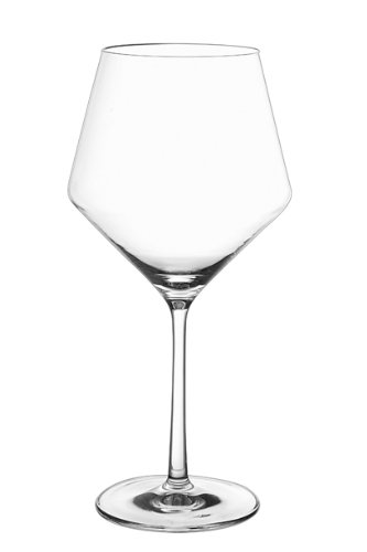 Schott Zwiesel Tritan Crystal Glass Pure Stemware Collection Burgundy Red Wine Glass, 23.4-Ounce, Set of 6 (Titanium Crystal Wine Glasses compare prices)