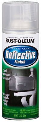 Rust-Oleum 214944 Reflective 10-Ounce Spray, Reflective