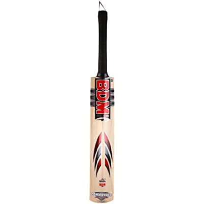 BDM Commander Max Power English Willow Cricket Bat, Short Handle