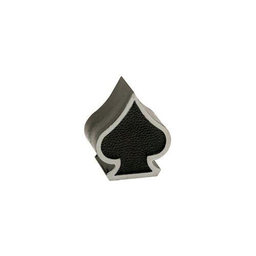 Trick Tops Spade Valve Caps Pair Black