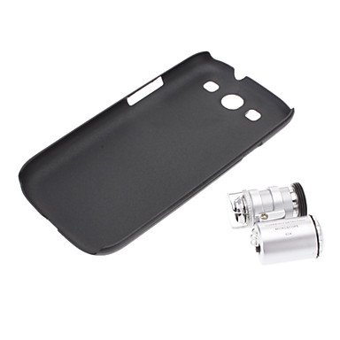 Rayshop - Microscope 60X Zoom Power Camera Lens With Back Case For Samsung Galaxy S3 I9300