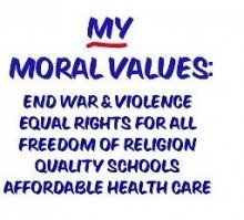 How do you set your sexual standards? Moral values - moral issues