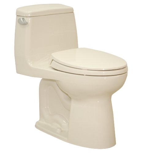 Toto Ms854114Sl#03 Ultramax Ada One Piece Toilet, Bone front-436397