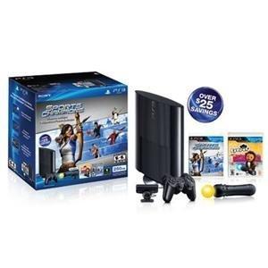 Amazon.com: Sony Playstation 3 250GB Sports Champion & EyePet Move Bundle: Video Games