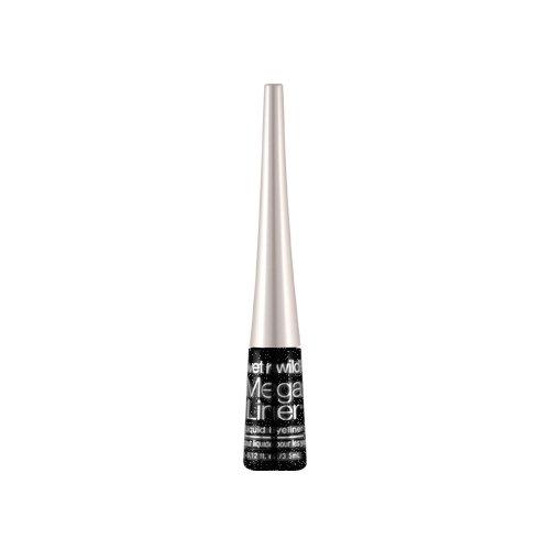 ウェットアンドワイルド Mega Liner Liquid Eyeliner Black Sparkle