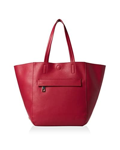Kenneth Cole Reaction Women's Essential Tote, Berry Stain