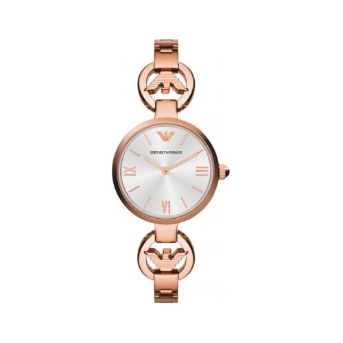 Emporio Armani AR1773 Ladies Gianni T-Bar Rose Gold Watch