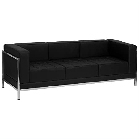 Hercules Imagination Series Leather Sofa with Encasing Frame