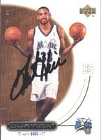 Grant Hill Orlando Magic 2000 Upper Deck Ovation Autographed Hand Signed Trading Card... by Hall of Fame Memorabilia